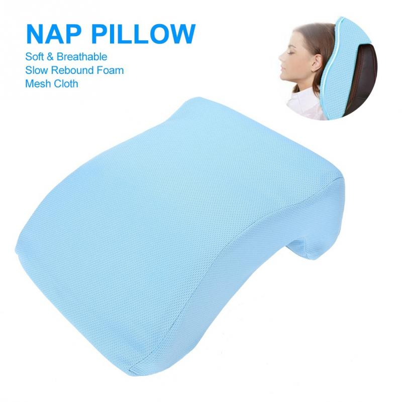 Skin Care Painstaking Nap Pillow Slow Rebound Memory Foam Office School Desk Breathable Nap Rest Cushion For Massage Chair