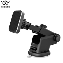 XMXCZKJ Universal Magnetic Car Mount Holder Windshield and Dashboard for Cell Phones Strong Stand