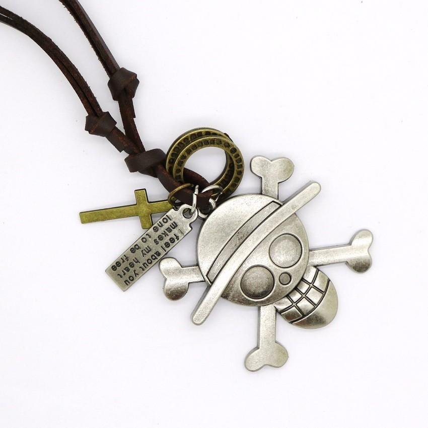 Модное мужское ожерелье с якорем в стиле панк ретро регулируемые