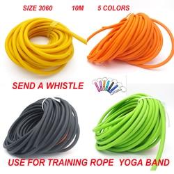 10 метров веревка для йоги DIY ремень йога оборудование для упражнений спортивное оборудование тренировочное Бодибилдинг 3060 Thera Band 10 M a piece