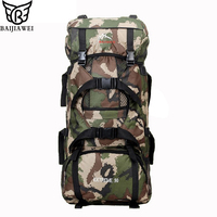 BAIJIAWEI Large Capacity Multifunction Men's Travel Bags Backpack For Man Camouflage Trekking Rucksacks Men Backpacks
