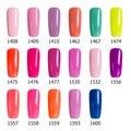 Sexy mix 17Pcs/Lot Sweet Candy Color Series UV Nail Gel Polish Soak Off UV Gel Polish Hot Sale Pink Color Nail Varnish Led Gel