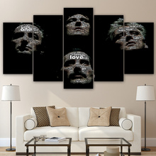 5 Pieces Canvas Paintings Printed Queen Rock Music Living Room poster picture Home Decor Wall Art Canvas Print Painting up-974
