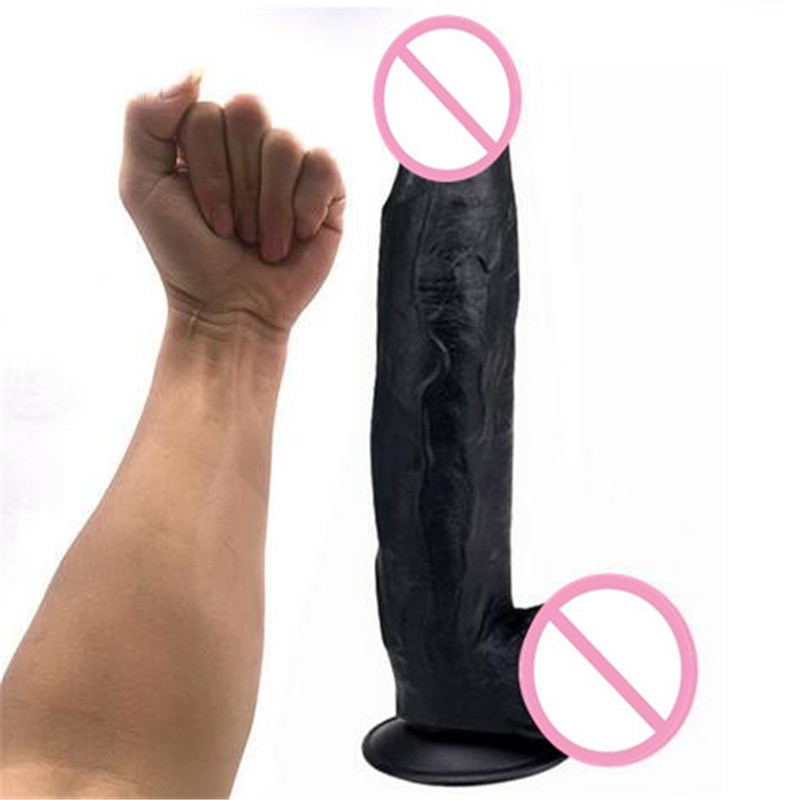 New Super-Large Suction Dildo False Penis Male with Masturbation Sex Toys For Woman Realistic Masturbator Adult Toy Sex Products super realistic dildo soft ribbed male artificial penis dick female masturbation adult sex toys sex shop 17 4 5 cm