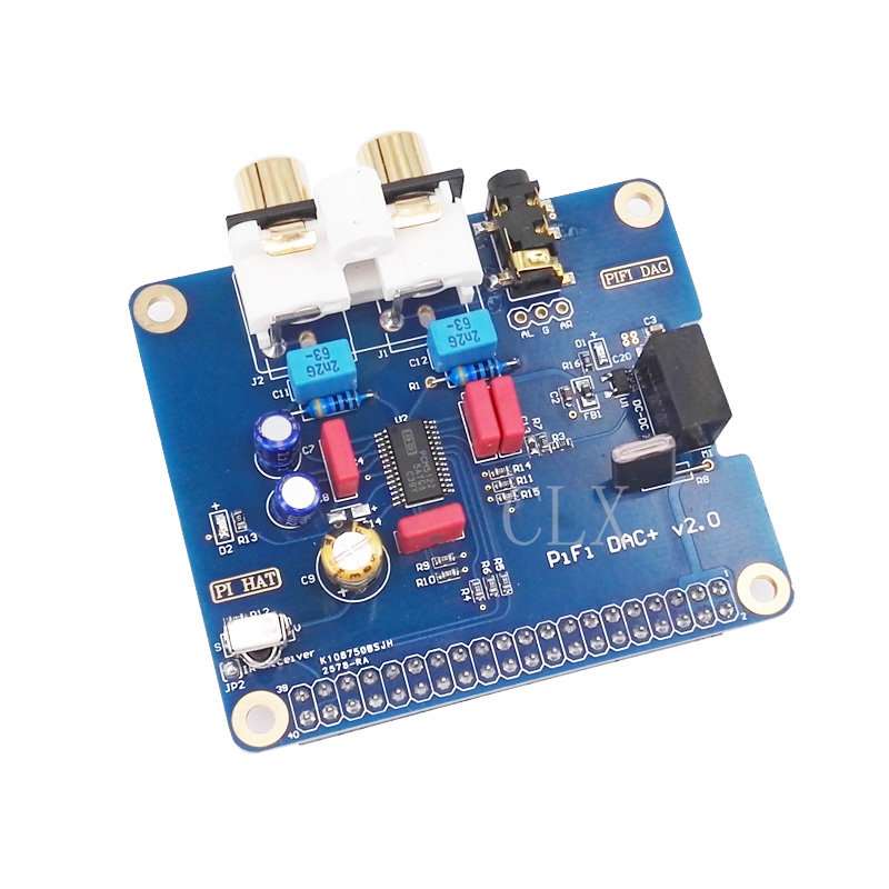 Raspberry Pi 3 Audio Sound Card Module I2S Interface HIFI DAC Expansion Board For Raspberry Pi 2 /3 Model B