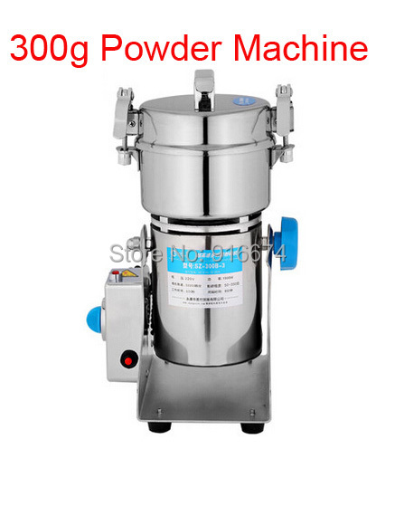 High Quality 300g Swing type stainless steel electric medicine grinder powder machine ultrafine grinding mill machine high quality 300g swing type stainless steel electric medicine grinder powder machine ultrafine grinding mill machine