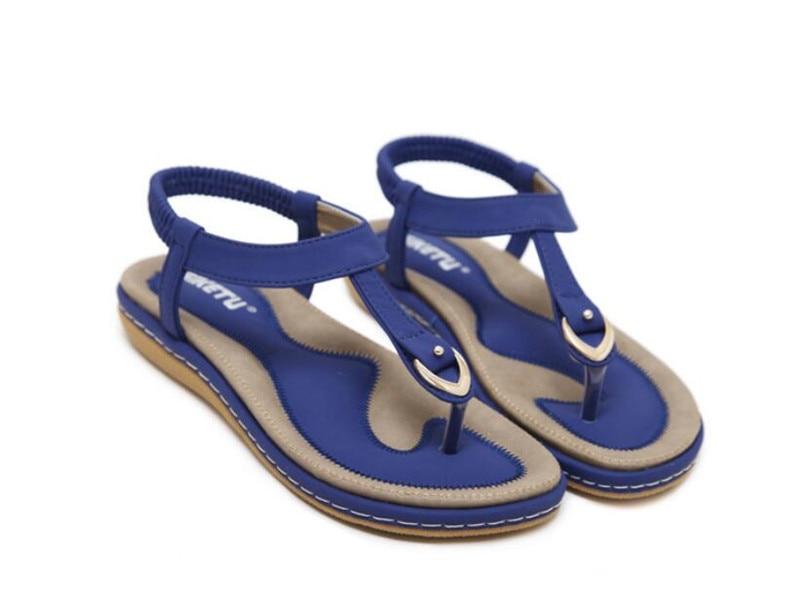 HTB1aWZ7kRsmBKNjSZFFq6AT9VXa1 Summer Shoes Women Bohemia Ethnic Flip Flops Soft Flat Sandals Woman Casual Comfortable Plus Size Wedge Sandals 35-45