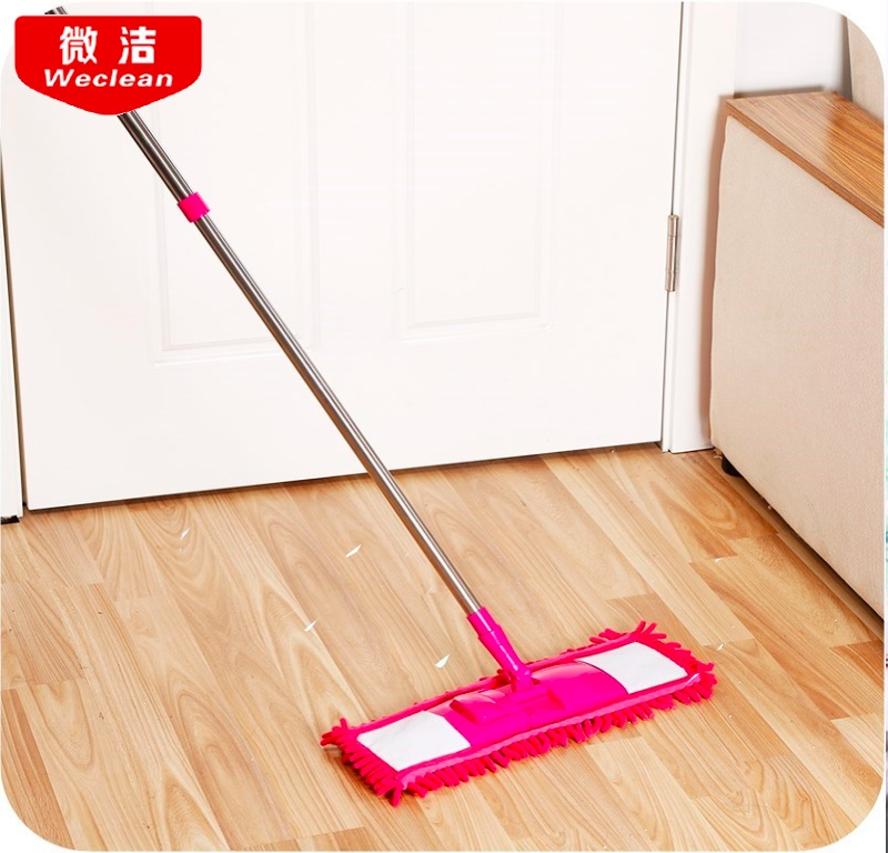 Household Cleaning Tools chenille Stream Floor Mop Wiper Duster Cleaning Cloth Drying Flat Mop Head Floor Sweeper