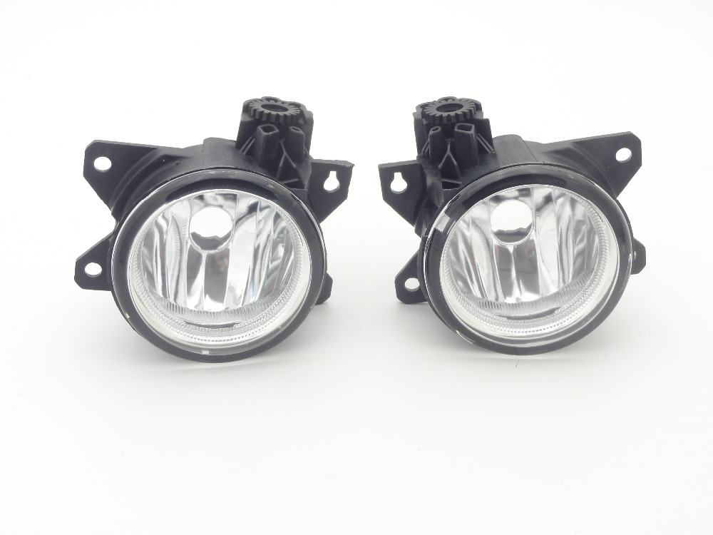 1 Pair Fog Lamps Front Driving Fog Lights Without Bulb LH+RH for Honda Civic sedan 2016-2017 1pair rh and lh front fog lights bumper driving lamps without bulbs for honda accord sedan 1998 2002