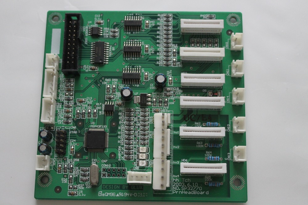 FY3360ec print head board printer parts brand new inkjet printer spare parts konica 512 head board carriage board for sale