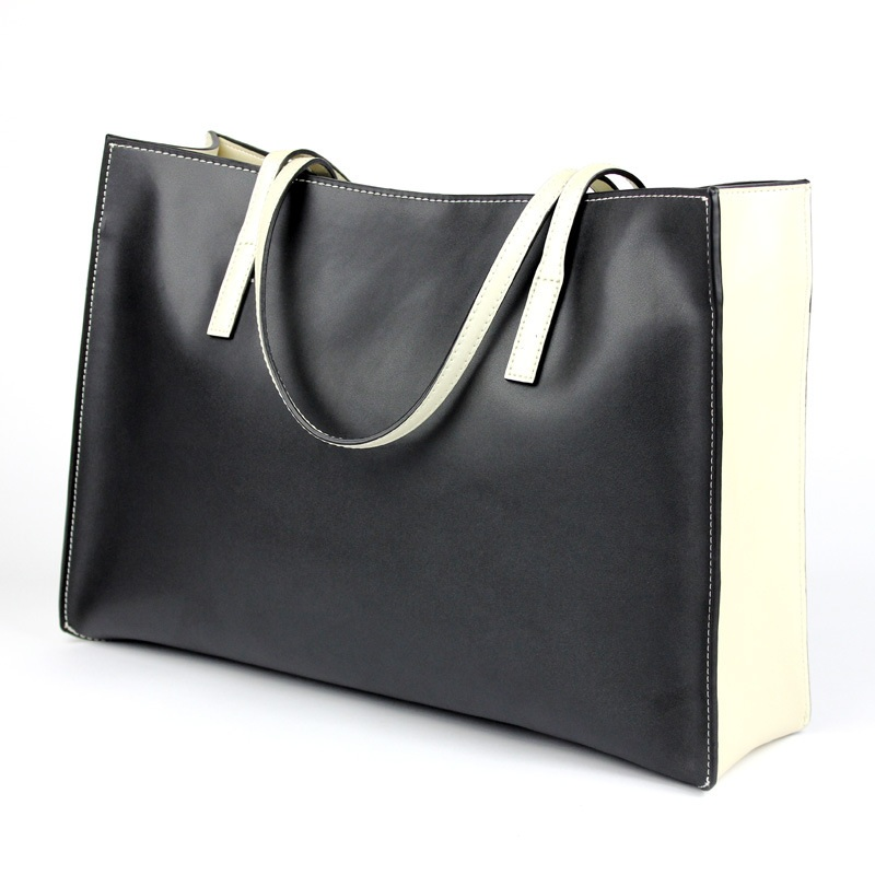 Maihui designer handbags high quality shoulder bags new large big capacity tote bag women cowhide genuine leatether shopping bag [whorse] brand high quality women genuine leather shoulder bags cowhide ladies casual tote bag large capacity wa5054 7