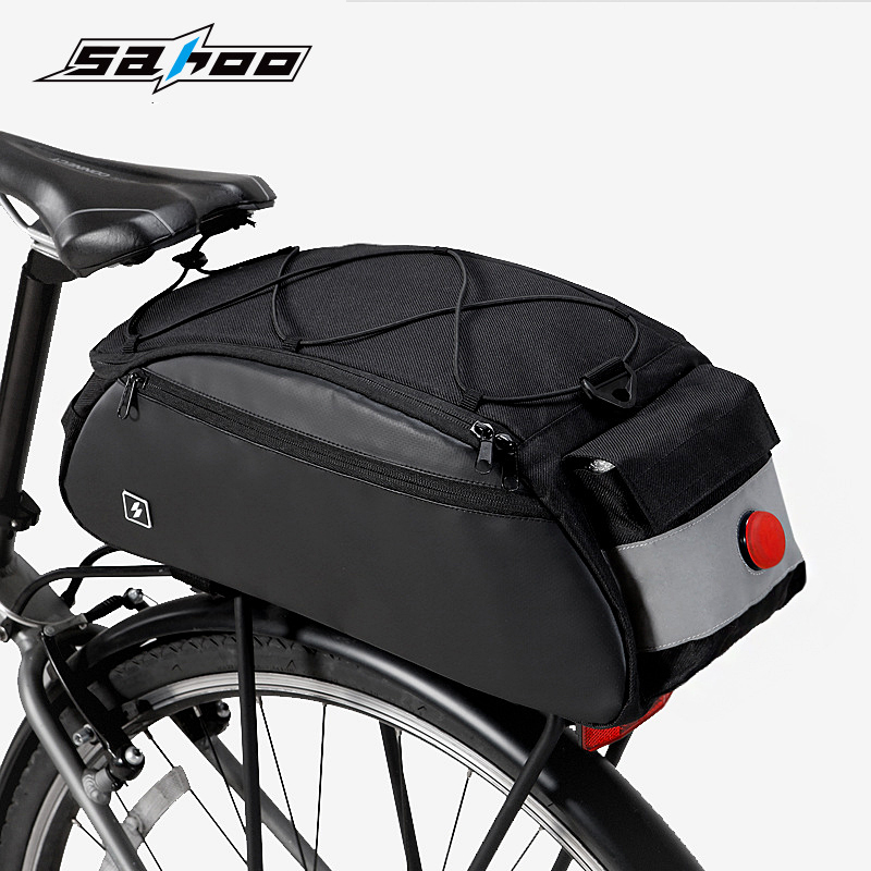 Sports & Entertainment Bicycle Bags & Panniers Faithful Sahoo 142002 Mountain Road Bike Bicycle Cycling Rear Seat Rack Trunk Bag Pack Saddle Bag Pannier Carrier Shoulder Bag Handbag