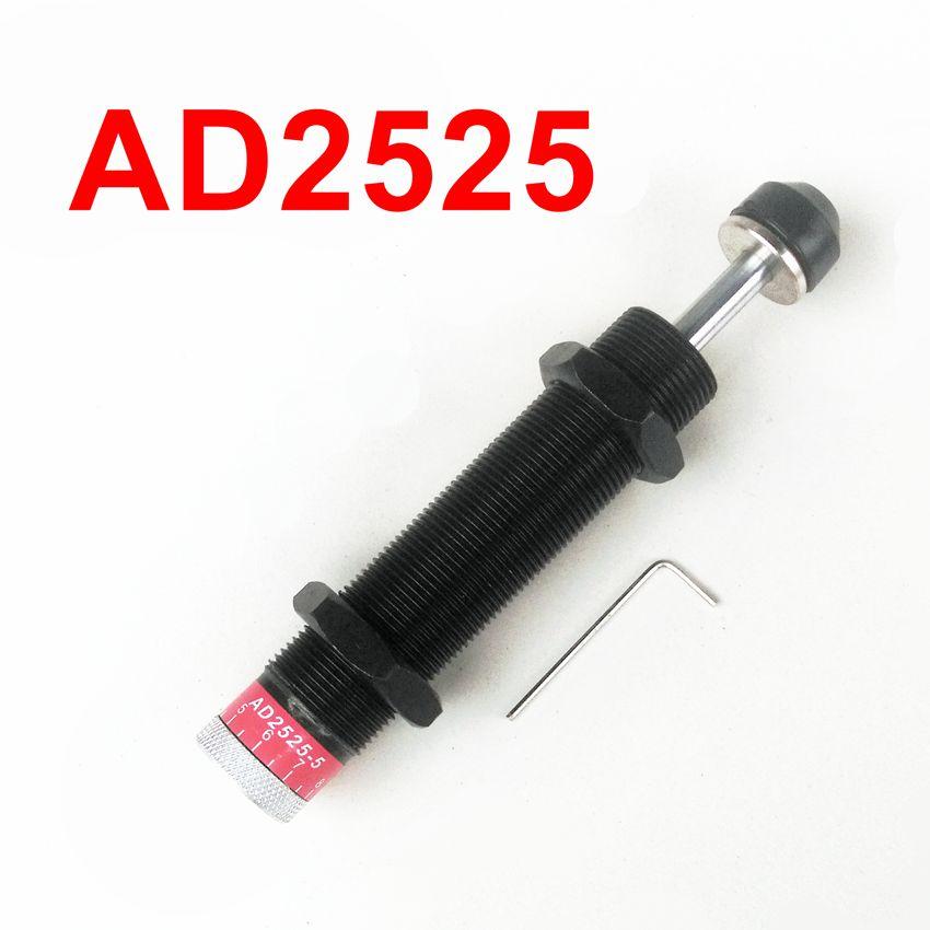 AD2525-5  M25*1.5 Hydraulic Shock Absorber Adjustable Buffer ad2525 5 pneumatic cylinder shock absorber ad 2525 5 m25 1 5 hydraulic shock absorber adjustable buffer