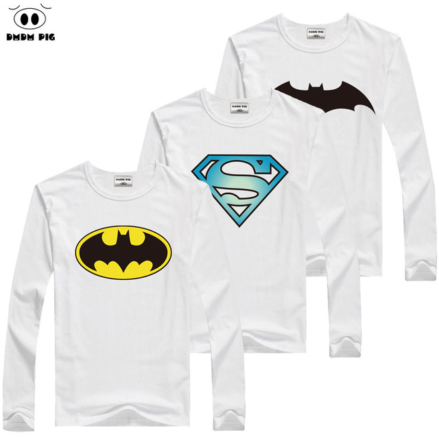 4b21be7eb DMDM PIG niños camisetas de manga larga Camisetas para niños niñas Tops  Camiseta Superman bebé niño