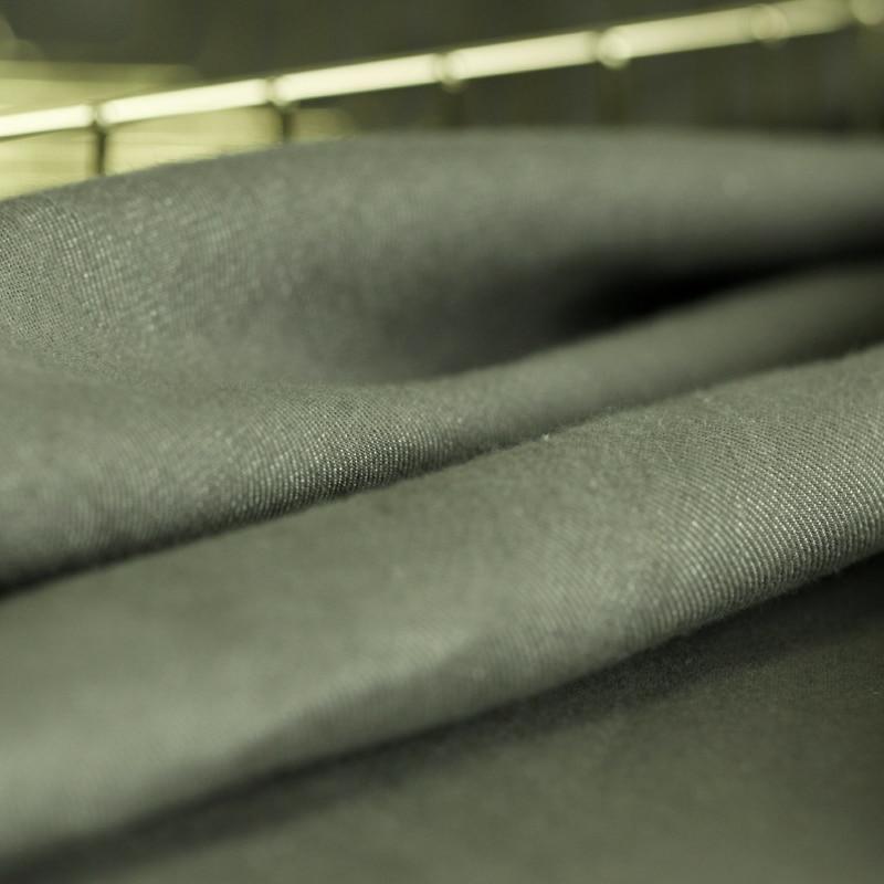 Tessuto tinto tessuto di cotone autunno e inverno vestiti dei vestiti tessuto di cotone panno di lino tessuto di lino naturale all'ingrosso - 5