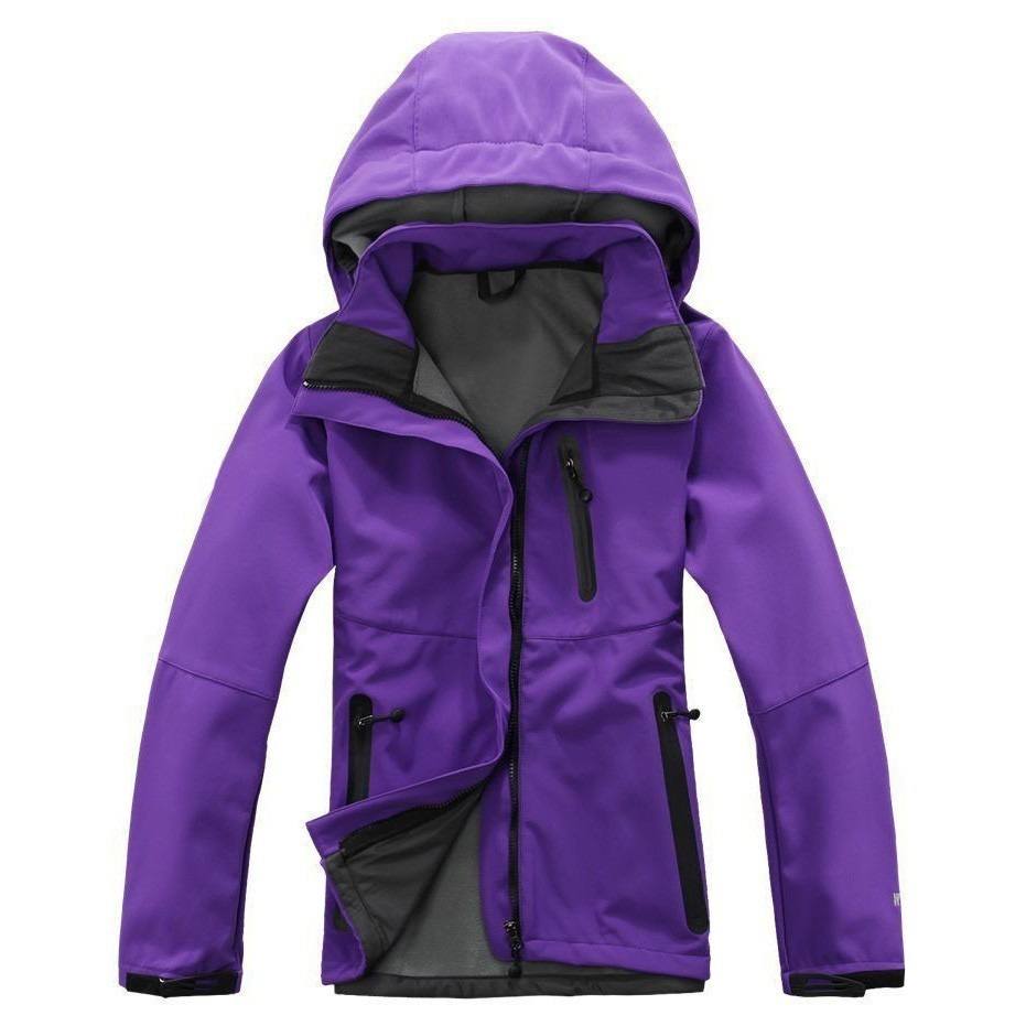 Womens Waterproof Windstopper Softshell Jackets Spring Autumn Winter Female Camping Hiking Outdoor Sport Jackets Coats 2015 windstopper softshell 1009etk