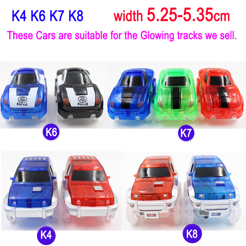 8-Styles-Electronics-Magic-Track-Cars-Led-Flashing-for-Glow-in-the-dark-Tracks-Toys-For-Kids-3