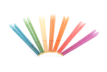 204pcs pesticide residue free aromatherapy ear candles smoke free mixed flavor with protective disc and CE