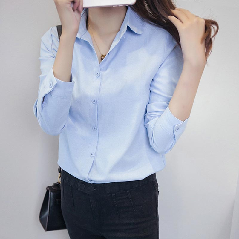 Women Fashion Blouse Elegant Swan Embroidery White Blusas Office Lady Vintage Long Sleeve Shirt Work Wear Slim Tops Blusa Beautiful And Charming Women's Clothing