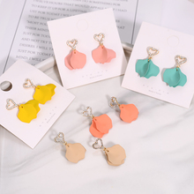 Simple Style Pendant Earrings Fashion Exquisite Jewelry Ladies Classic Sweet Minimalist Accessories Gif