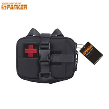 EXCELLENT ELITE SPANKER Tactical Activity First Aid Bags Outdoor Hunting Emergency Bag Military Medical Survival Nylon Kit Pouch