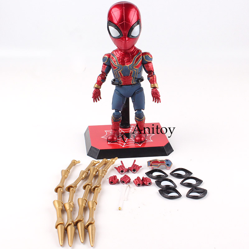 Marvel Toys The Avengers 3 Infinity War Spider-man Figurine PVC Figures Toy Spiderman Collectible Model Boys Toys Gift 17cm 30cm super hero spiderman action figures toys brinquedos anime spider man collectible model boys toy as christmas gift bn023