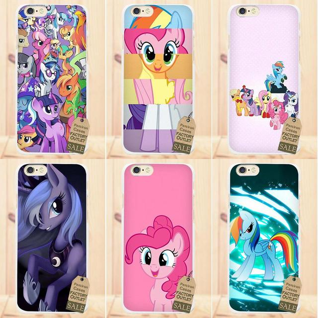 52080c0dd33 Soft Cover Cell Phone Cases My Little Pony For Apple iPhone 4 4S 5 5C SE ...