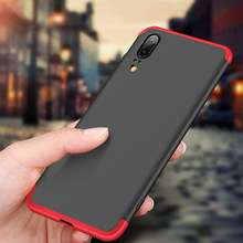 Luxury Anti-knock Cases For HUAWEI P20 Lite Pro P10 Plus P9 lite 2017 Protective Cases Back Shell Cover for Nova 3E Phone Cases(China)
