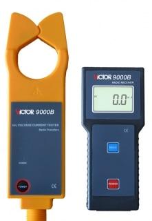VICTOR 9000B testeur de courant alternatif haute et basse tension test de courant alternatif VC9000B pince numérique