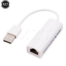 Chất Lượng cao USB để RJ45 USB 2.0 để Mạng Ethernet LAN Adapter Thẻ 10/100 Adapter cho PC Máy Tính Xách Tay LAN adapter RTL8152B chipest