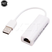 USB wysokiej jakości do RJ45 USB 2.0 do sieć ethernet karta adaptera sieci lan 10/100 do laptopa PC Adapter lan RTL8152B chipset