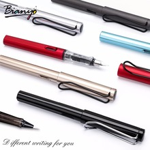 цены Bianyo 0.38mm Nib Fountain Pen Set Signature Pen 1-5mm Brush Pens for School Students Office Writing Calligraphy Office Supplies