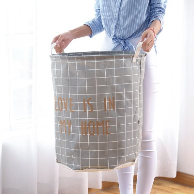Domestic dirty clothes basket cartoon cloth art dirty clothes basket large waterproof folding laundry basket bathroom Oxford clo