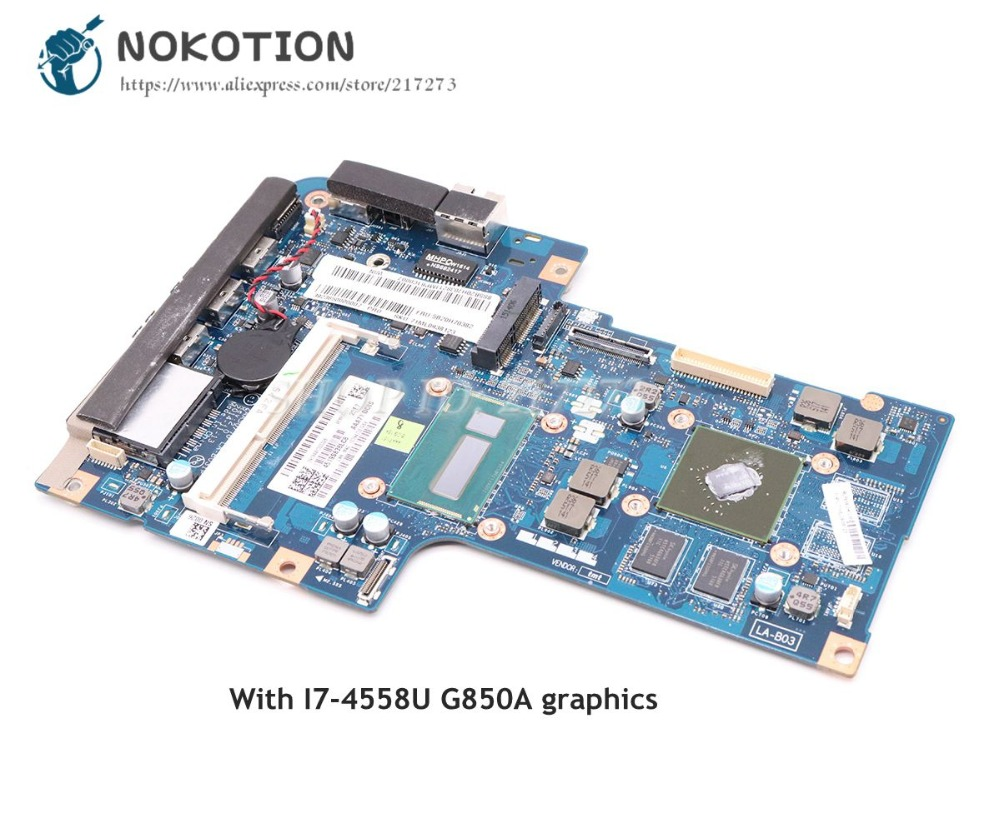 NOKOTION ZAA50 70 LA B031P Main Board For Lenovo A740 All In One AiO 27 Inch