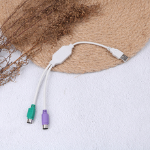 Горячая 1 шт. для клавиатуры мыши мужчин и женщин кабель адаптер конвертер использовать USB для PS2 адаптер шнура конвертера