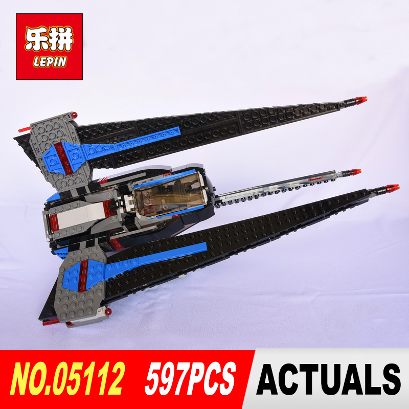 lepin 05112 star wars classic limited edition Tracker I Fighter model building blocks bricks toys hobbies gift LegoINGlys 75185