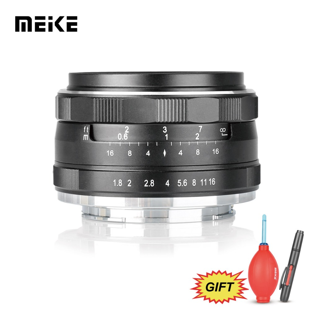 Meike MK 25mm f/1.8 Large Aperture Wide Angle Lens Manual for Fujifilm X Mount Mirrorless Camera X-H1 X-Pro2 X-E3 X-T1 X-T2 t2 red copper d150mm x 25mm 2pcs
