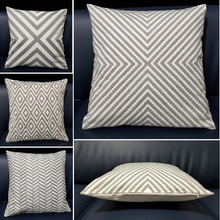 Nordic Style Thick Cushion Cover Sofa Gray Embroidery Geometric Pillow Cover 45cm*45cm Home Decorative Cushion Cover Car pillows цены