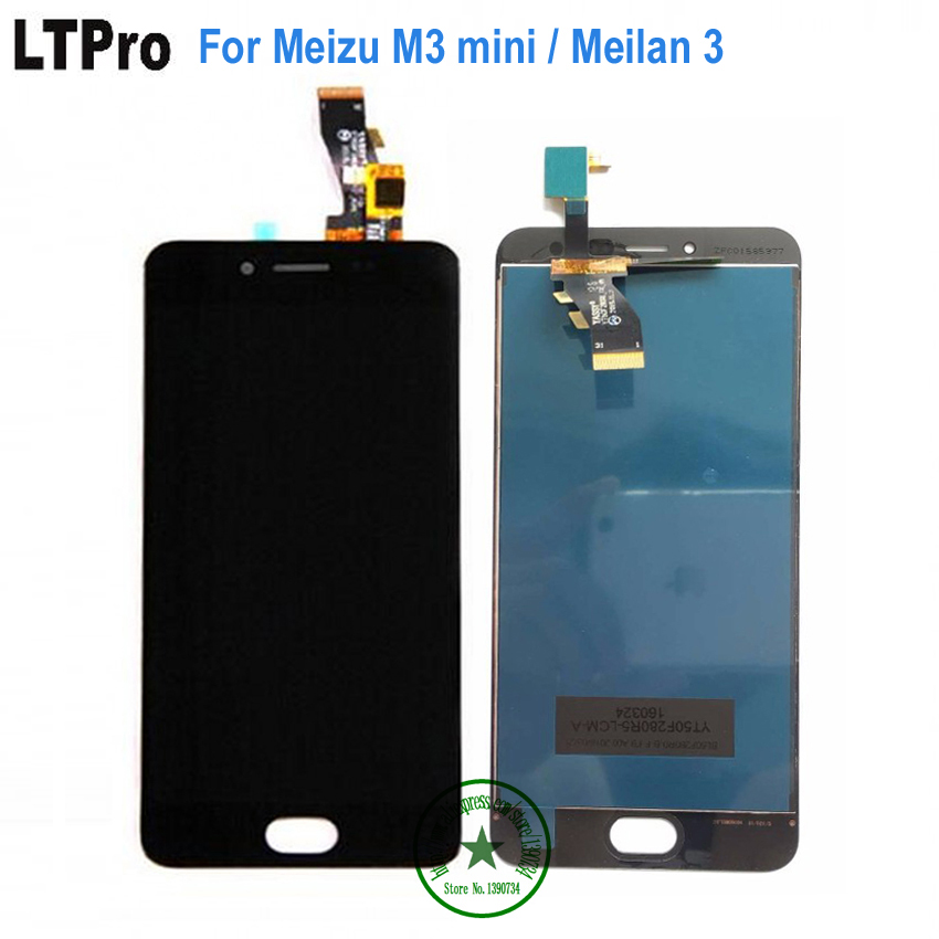 LTPro 100% Warranty LCD <font><b>Display</b></font>+Touch Screen Digitizer Assembly For <font><b>Meizu</b></font> <font><b>m3</b></font> Meilan 3 / for <font><b>meizu</b></font> <font><b>m3</b></font> <font><b>mini</b></font> Cell Repair Part image
