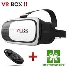 G oogleกระดาษแข็งVR BOX II 2.0รุ่นVRความจริงเสมือนแว่นตา3Dสำหรับ3.5-6.0นิ้วมาร์ทโฟนที่มีบลูทูธควบคุม1.0