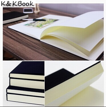 K&KBOOK Vintage Dowling Paper Blank Pages Sketch Bos