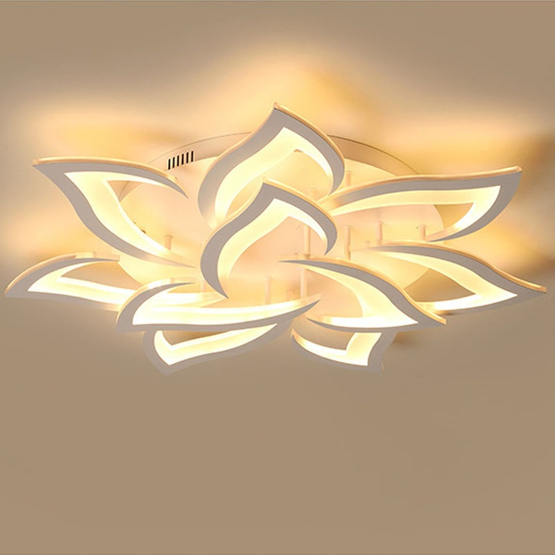 New Modern LED lamp for living  room bedroom house by modern Led ceiling chandelier lighting