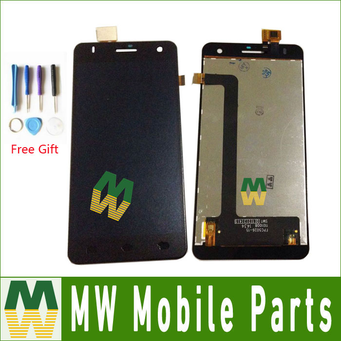High Quality Black Color For Fly IQ4512 EVO Chic 4 Quad LCD Display + Touch Screen Digitizer Assembly 1PC /Lot with tools