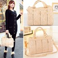 2014 New Women's Handbag Oblique Carry Casual Big Bag Retro Lace Bags Free Shipping#7