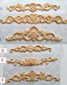10PCS/Lot  FURNITURE ARCHITECTURAL APPLIQUES WOOD UNPAINTED MULTIPLE DESIGNS FOR OPTIONS APPLIQUE