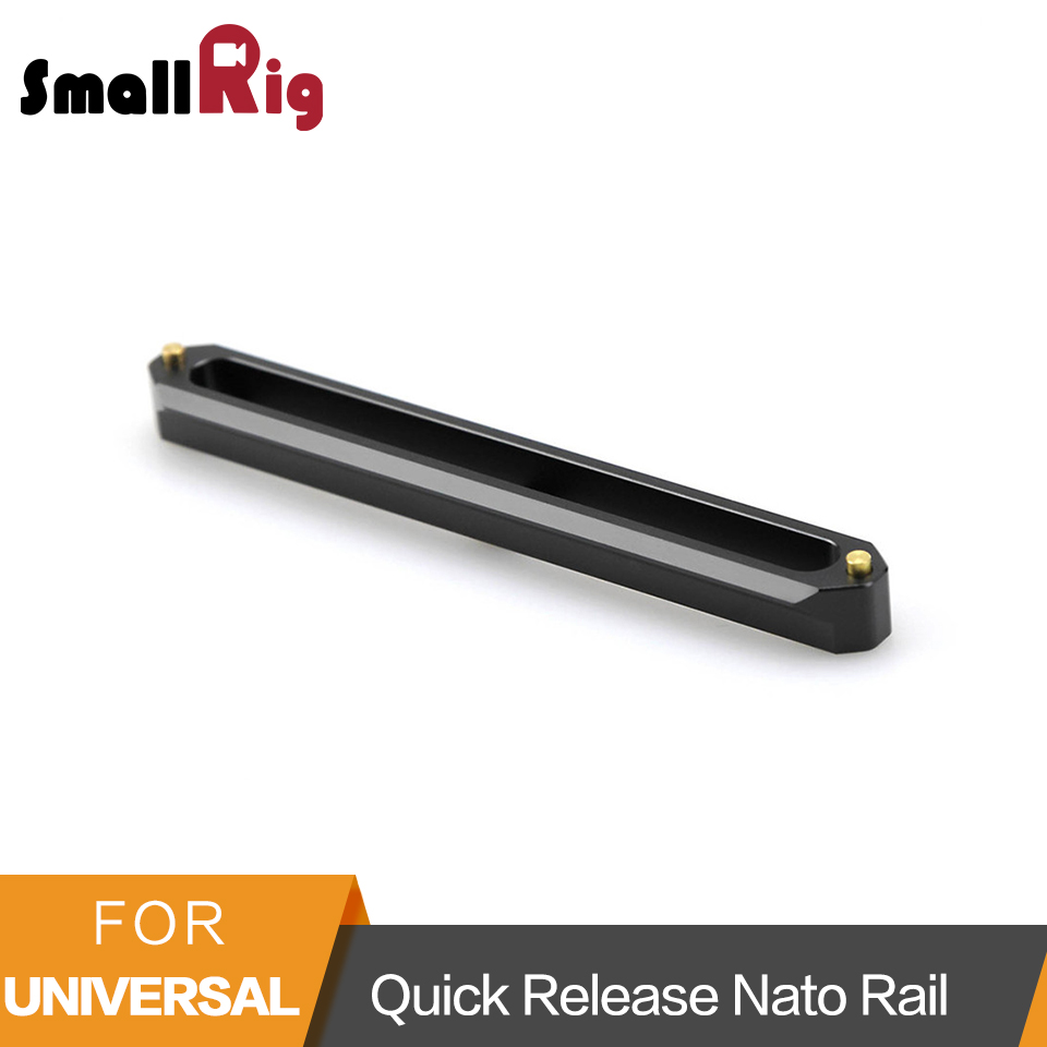 SmallRig Quick Release Camera Safety Nato Rail 15cm Long for Slide Nato Mount for RED Epic/ Scarlet for BlackMagic Camera -1187