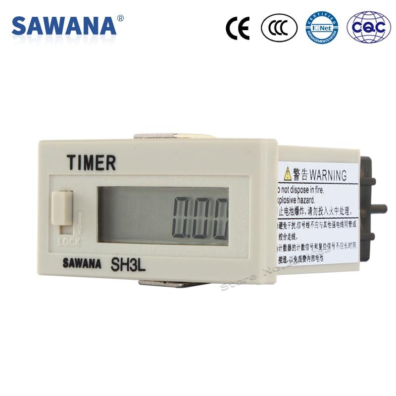 Werkzeuge FäHig Mini Timer Kumulative Timer Dc24v 9999h59m Timer