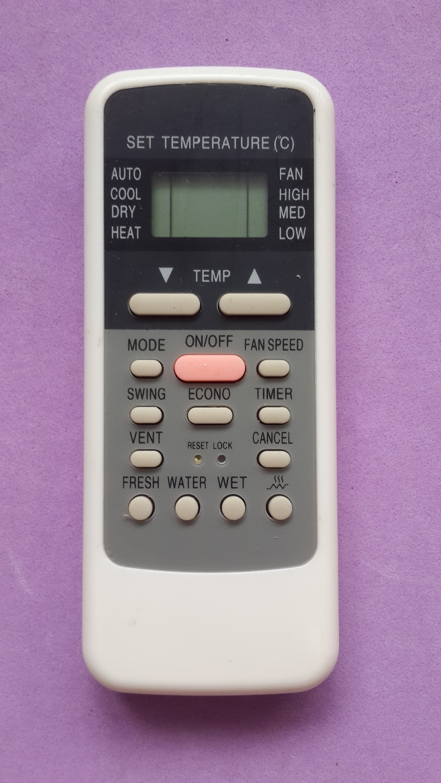 conia air conditioner remote manual