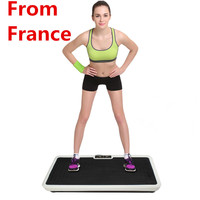 New Power Fit Vibration Plate Platform Abdominal Muscle Trainer Body Slimming Machine Fat Burning Fitness Workout Equipment HWC