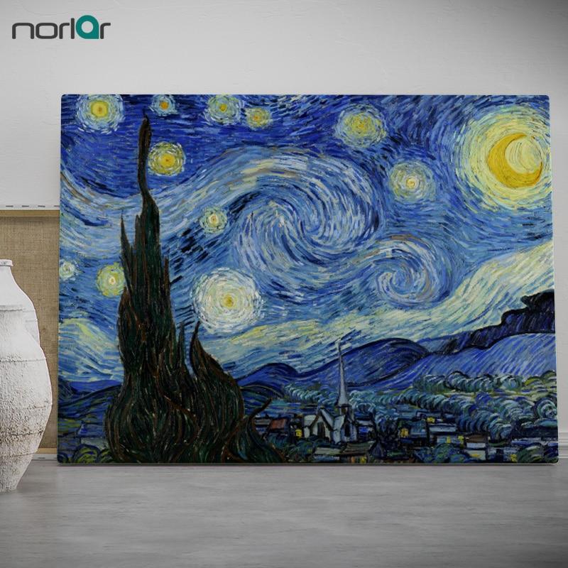 Moderne Wandkunst Bild vincent Van Gogh Sternenklare Nacht Drucke ...